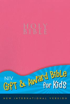 NIV, Gift and Award Bible for Kids, Leathersoft, Navy, Red Letter