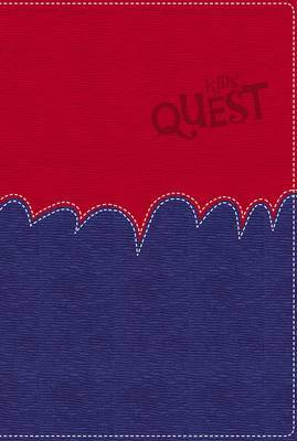 NIRV Kid's Quest Study Bible Red/Blue