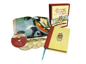 The Jesus Storybook Bible: With Audio CDs and DVDs