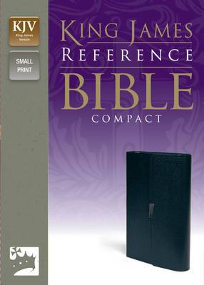 King James Reference Bible: Button Flap Compact Edition