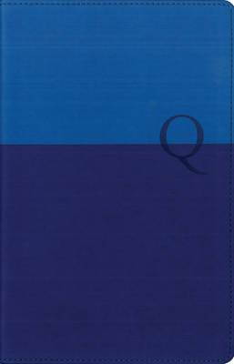 NIV, Quest Study Bible, Personal Size, Leathersoft, Blue: The Question and Answer Bible