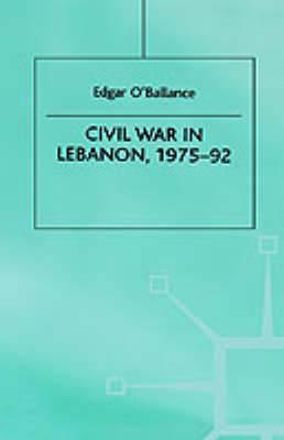 Civil War in Lebanon, 1975-92