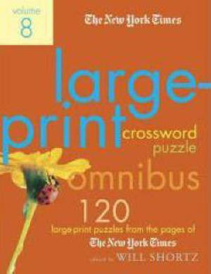 Large-Print Crossword Puzzle