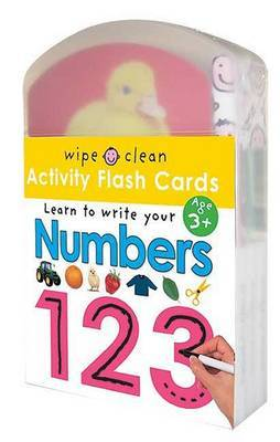 Wipe Clean: Activity Flash Cards Numbers