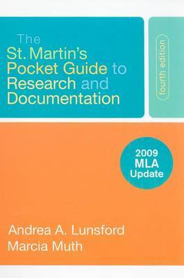 The St. Martin's Pocket Guide to Research and Documentation