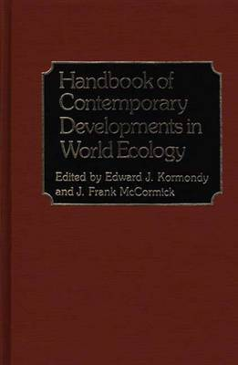 Handbook of Contemporary Developments in World Ecology