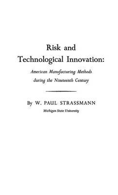 Risk and Technological Innovation: American Manufacturing Methods During the Nineteenth Century
