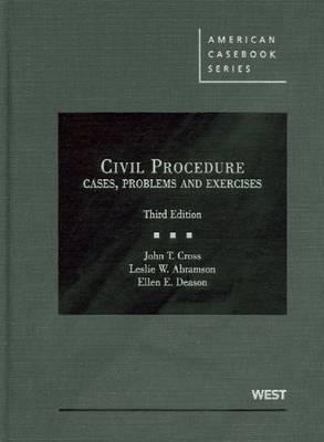 Civil Procedure, Cases, Problems and Exercises