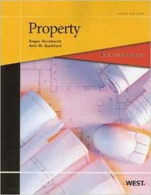 Black Letter Outline on Property