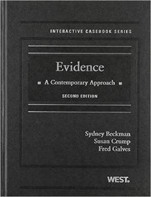 Evidence: A Contemporary Approach