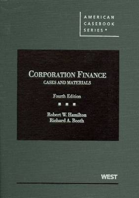 Cases and Materials on Corporation Finance