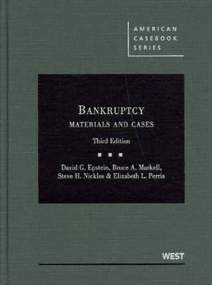 Bankruptcy: Materials and Cases
