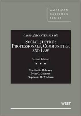 Social Justice: Professionals, Communities and Law