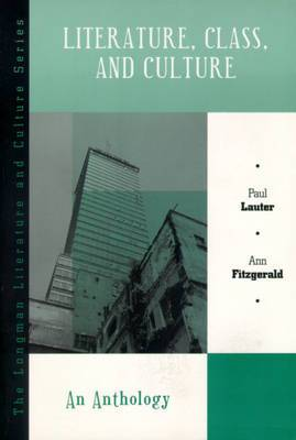 Literature, Class, and Culture: An Anthology