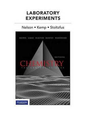 Laboratory Experiments for Chemistry: The Central Science