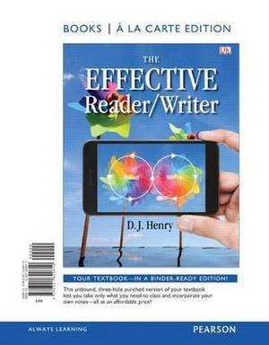 The Effective Reader/Writer, Books a la Carte Edition