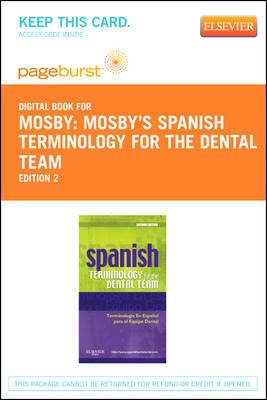 Spanish Terminology for the Dental Team - Elsevier eBook on Vitalsource (Retail Access Card)