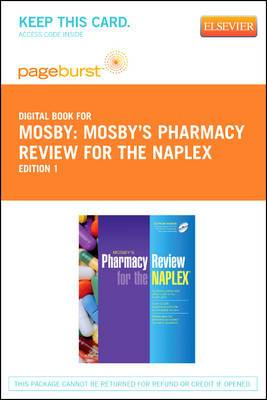 Mosby's Pharmacy Review for the Naplex? - Elsevier eBook on Vitalsource (Retail Access Card)