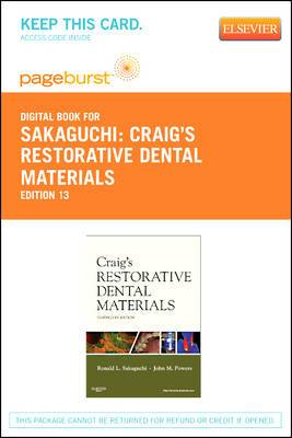 Craig's Restorative Dental Materials - Elsevier eBook on Vitalsource (Retail Access Card)