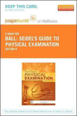 Seidel's Guide to Physical Examination - Elsevier eBook on Vitalsource (Retail Access Card)