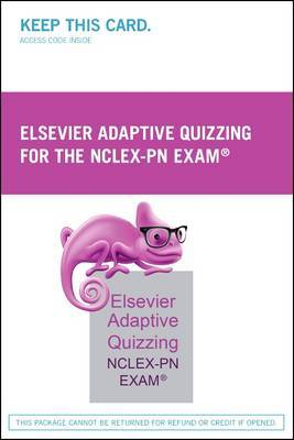 Elsevier Adaptive Quizzing for the NCLEX-PN Exam (Retail Access Card)