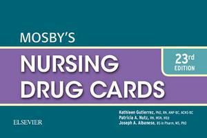 Mosby'S Nursing Drug Cards 23e