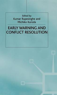 Early Warning and Conflict Resolution