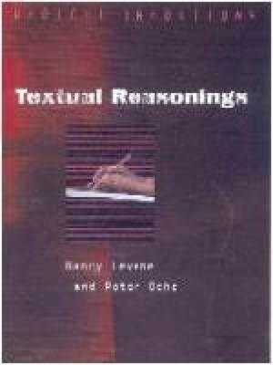Textual Reasonings: Jewish Philosophy and Text Study After Modernity