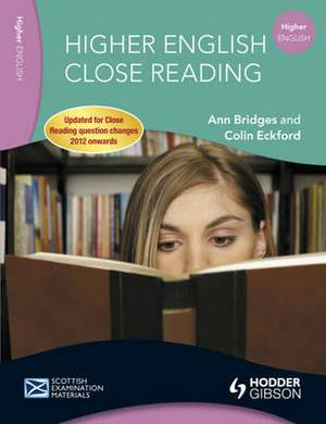 Higher English Close Reading