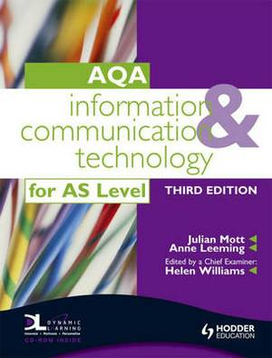 Information and Communication Technology for AQA AS: With Dynamic Learning Student Online