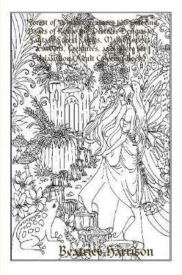 Forest of Wings:  Features 100 Coloring Pages of Relax and Destress Designs of Fantasy Forest Fairies, Magic Forests, Gardens, Creatures, and More for Relaxation (Adult Coloring Book)