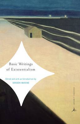 Mod Lib Basic Writings Of Existentialism