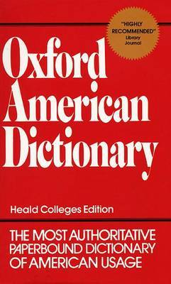 Oxford American Dictionary