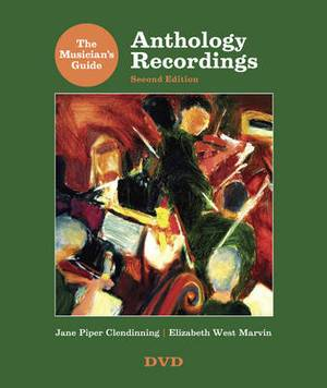 The Musician's Guide to Anthology Recordings: For the Musician's Guide to Theory and Analysis