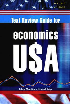 Text Review Guide: For Economics U$a, Seventh Edition