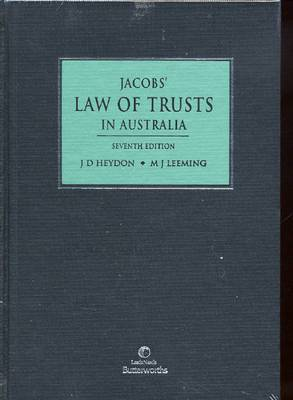 Jacobs' Law of Trusts in Australia