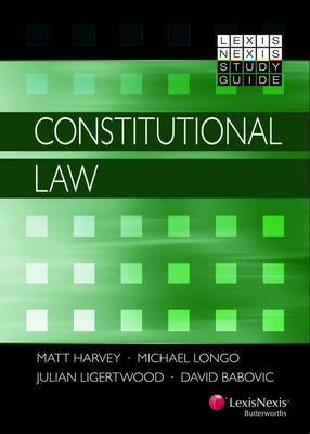 LN Study Guide Consitutional Law