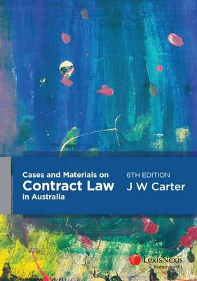 Carter's Guide to Australian Contract Law