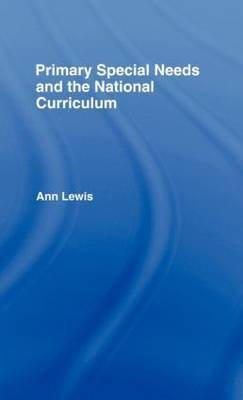 Primary Special Needs and the National Curriculum