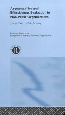 Accountability and Effectiveness Evaluation in Non-profit Organizations
