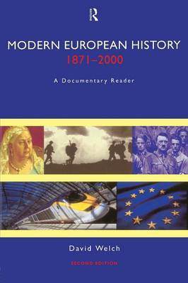Modern European History, 1871-2000: A Documentary Reader