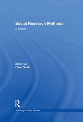 Social Research Methods: A Reader