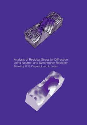Analysis of Residual Stress by Diffraction Using Neutron and Synchrotron Radiation