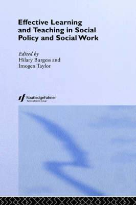 Effective Learning and Teaching in Social Work and Social Policy