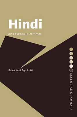 Hindi: An Essential Grammar