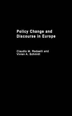 Policy Change and Discourse in Europe
