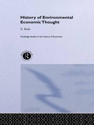 History of Environmental Economic Thought
