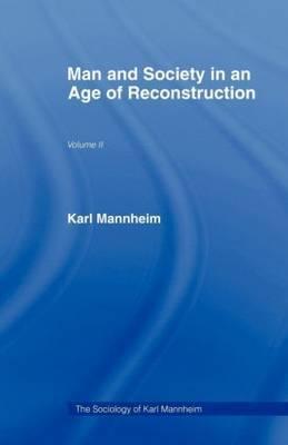 Man & Soc Age Reconstruction: Volume 2