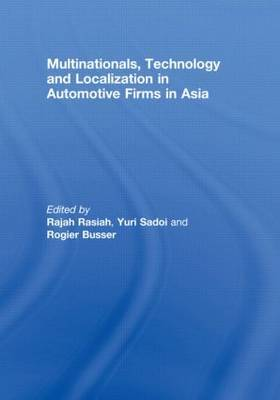 Multinationals, Technology and Localization in Automotive Firms in Asia