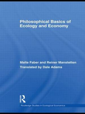 Philosophical Basics of Ecology and Economy